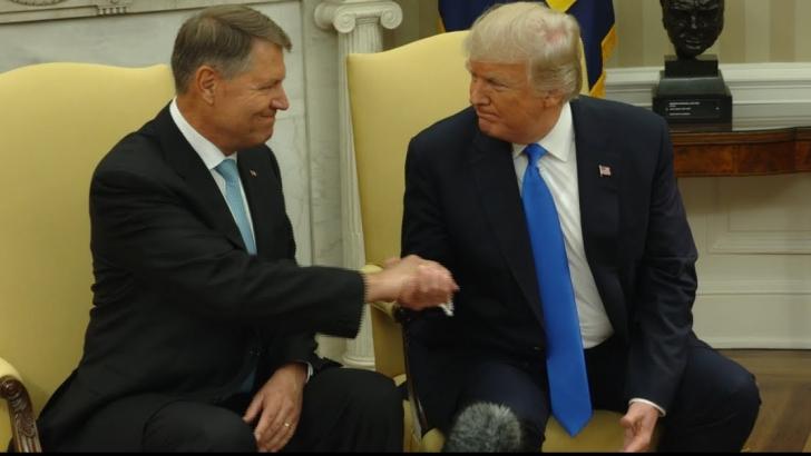 Iohannis, întâlnire de gradul zero cu Trump la New York