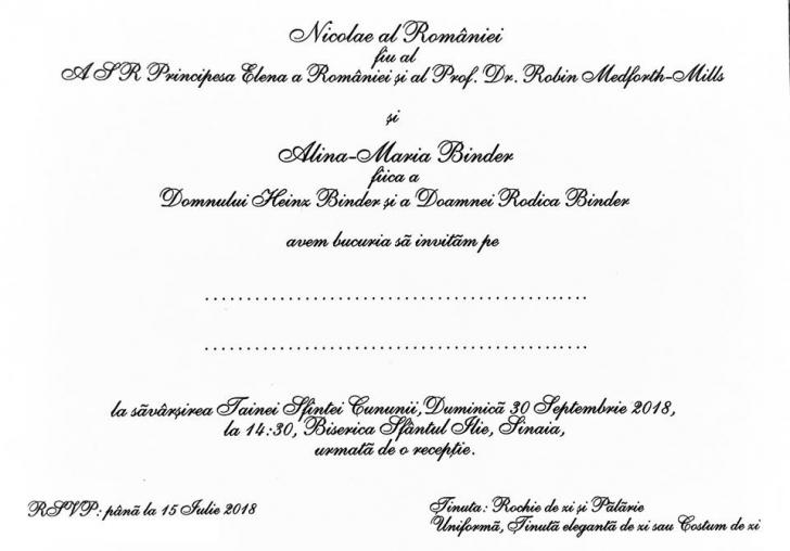 Nunta Principelui Nicolae