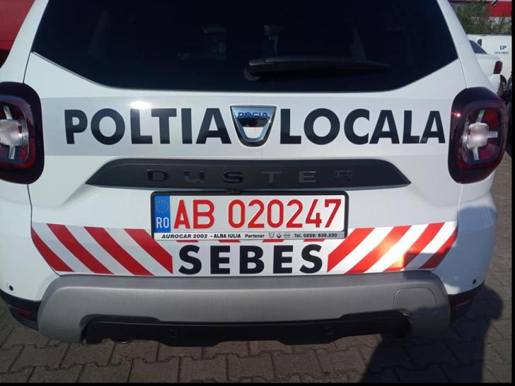 """Scandalul """"Poltia Locală Sebeș"""", eroare de tipar"""