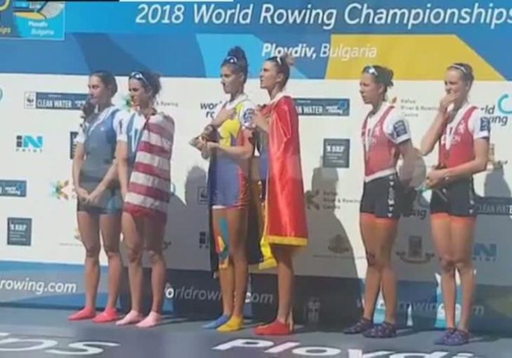Aur şi argint pentru România, la Mondialele de Canotaj