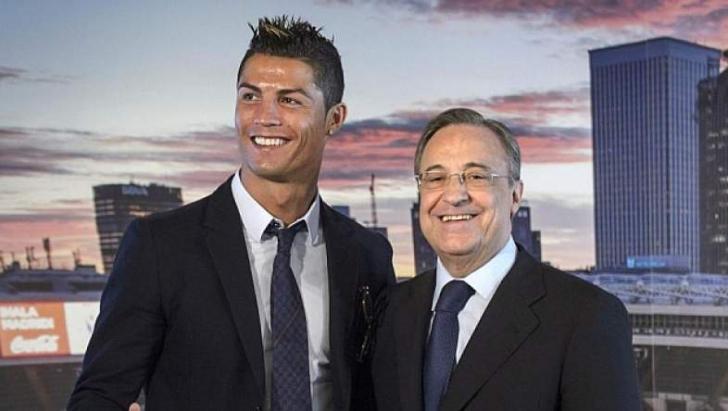 """Real Madrid, Florentino Perez. Şocul anului: """"Cristiano Ronaldo se va întoarce"""""""