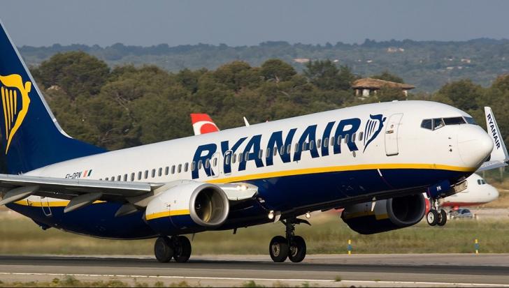 A doua alertă cu bombă în timpul unui zbor Ryanair într-o săptămână. Un bărbat, arestat