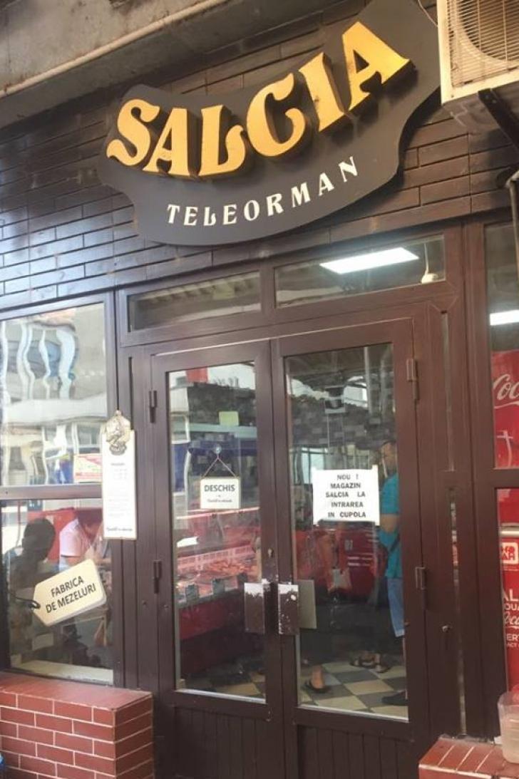 În plină epidemie de pestă porcină, ferma Salcia și-a mai deschis un magazin la Alexandria