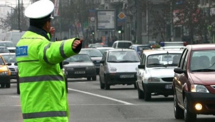 Traficul rutier, restricţionat sâmbătă în centrul Capitalei