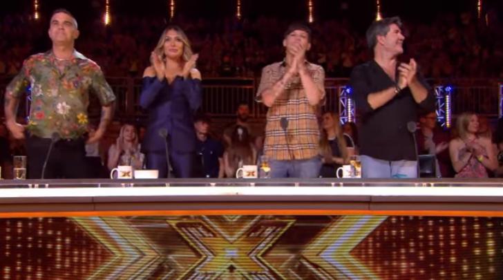 Cezar Ouatu a ridicat în picioare juriul de la X Factor UK. Impresionant