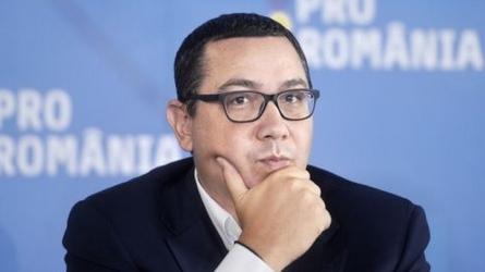 Ponta, ironic: Dăncilă a dat OUG şi a fugit. Din păcate, nu avem acord de extrădare cu Dubaiul