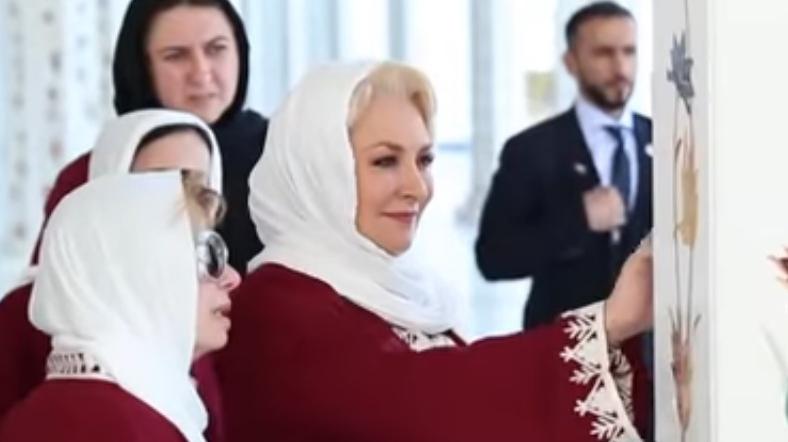 Viorica Dancila, în Emirate