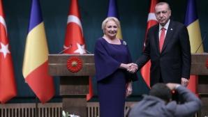 Un nou film mut: Viorica Dăncilă, faţă în faţă cu Erdogan