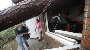 Uraganul Michael, în acțiune