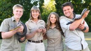 """Familia """"vânătorului de crocodili"""" Steve Irwin lansează un nou show TV"""