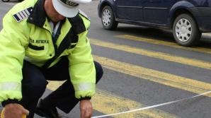 Accident îngrozitor:un om a fost omorât chiar pe trecerea de pietoni. Acesta era culcat pe carosabil