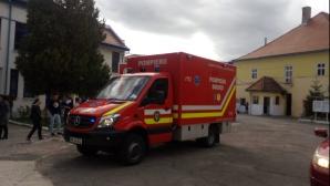 Alerta liceu Sibiu - gaze lacrimogene