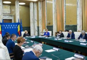 Şedinţă extraordinară de Guvern pe legile Justiţiei. Dăncilă dă OUG şi pleacă din ţară / Foto: gov.ro