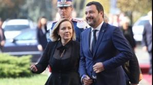 Carmen Dan, alături de vicepremierul italian