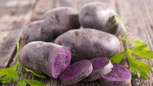 Adevărul despre cartofii mov din supermarketuri: Ce conţin, de fapt, aceştia?