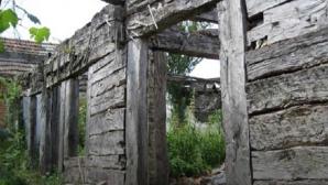 S-a prăbușit casa în care s-a născut Constantin Brâncuși