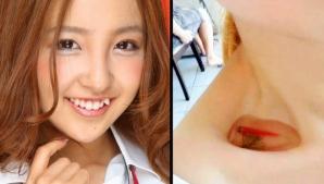 Moda nebună care face furori în China: motivul uluitor pentru care tinerele umblă cu peştii pe gât!