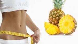 Dieta cu ananas. Slăbeşti un kilogram pe zi