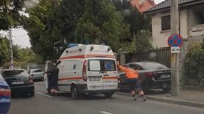 Au rămas cu Ambulanţa în pană, pe o stradă din Craiova