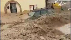 Inundaţii CATASTROFALE în Spania. Imagini devastatoare