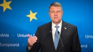 Klaus Iohannis participă la reuniunea Consiliului European de la Bruxelles