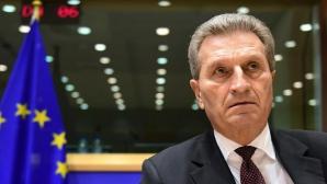 De ce vine în România Günther Oettinger