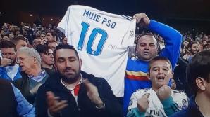 """Povestea din spatele tricoului """"M..E PSD"""", de pe Santiago Bernabeu"""