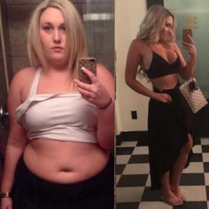 Cele două lucruri care au ajutat-o pe această tânără să slăbească 43 de kg