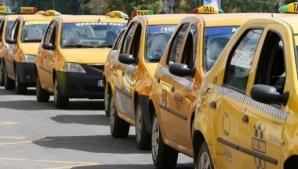 Tarife mai mari la taxi: 2 lei/km, de la 1 noiembrie