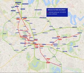 Restricţii de trafic, în Capitală, pentru Maratonul Bucureşti şi meciul România-Serbia