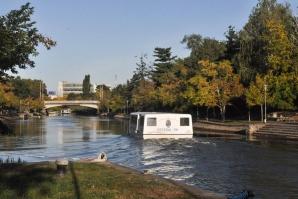 Primul oraș din țară cu transport în comun pe apă