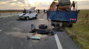 Accident pe DN1, în apropiere de Băicoi
