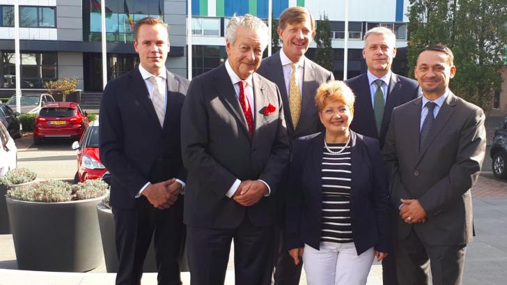 Ambasada României în Olanda face PR pentru Damen, care se bate pe 1,6 miliarde de euro la MApN