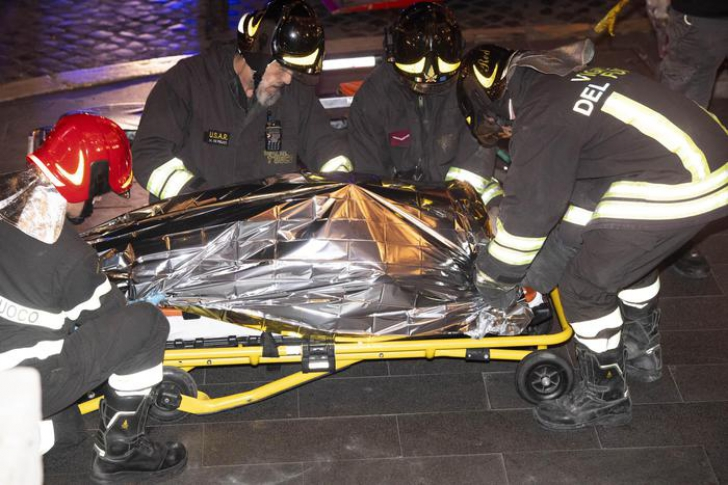 Zeci de suporteri ruși răniți la metroul din Roma. O scară rulantă s-a prăbușit IMAGINI ȘOCANTE
