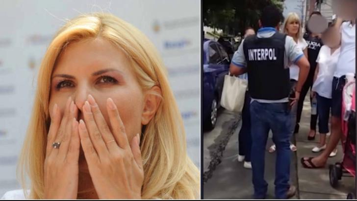 Elena Udrea, reţinută pe stradă de Interpol