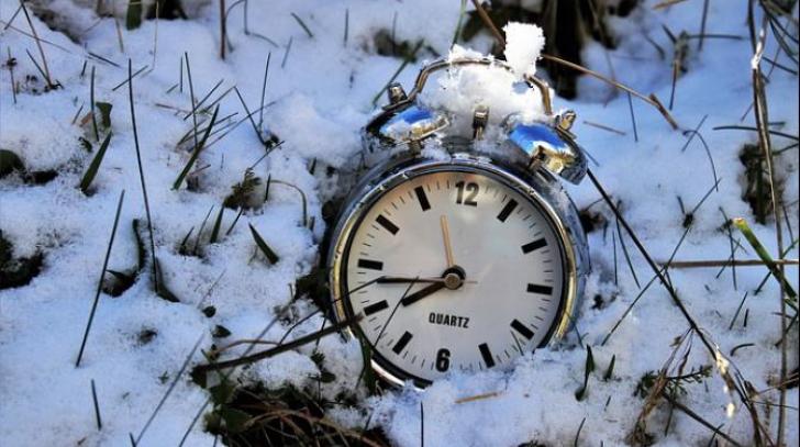 ORA DE IARNĂ 2018. Anunţ important despre schimbarea orei