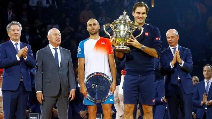 Cuvintele cu care Marius Copil a stârnit ropote de aplauze după finala în fața lui Federer