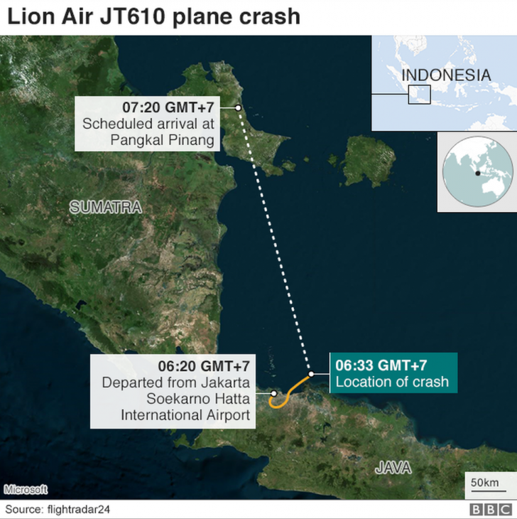 Un avion cu 189 de oameni la bord s-a prăbușit în mare. Mister: Ce s-a întâmplat?