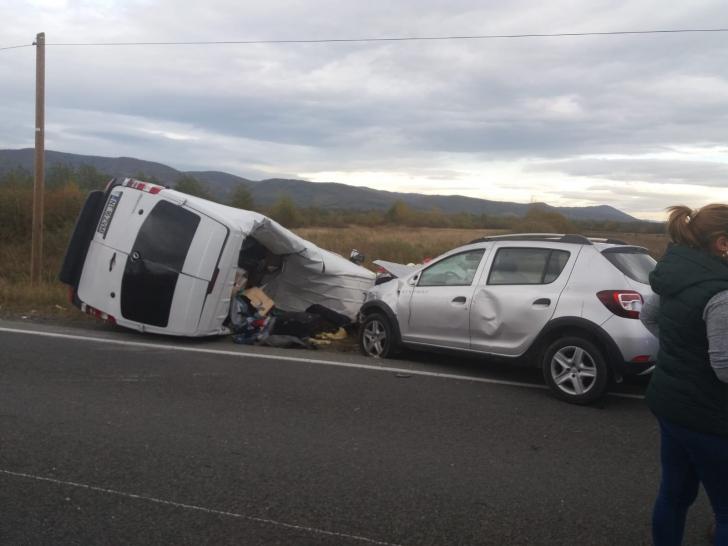 Accident la Caransebeș