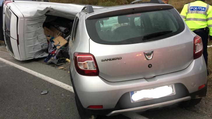 <p>Accident la Caransebeș</p>