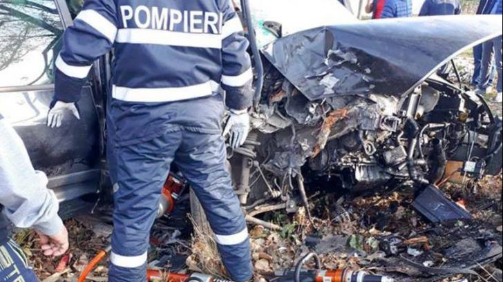 Accident grav de circulație în Giurgiu. Trei persoane au fost rănite