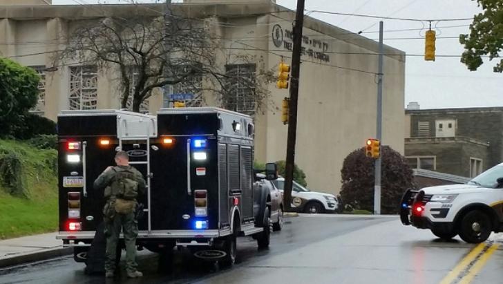 Unde de șoc în întreaga lume după măcelul de la sinagoga din Pittsburgh