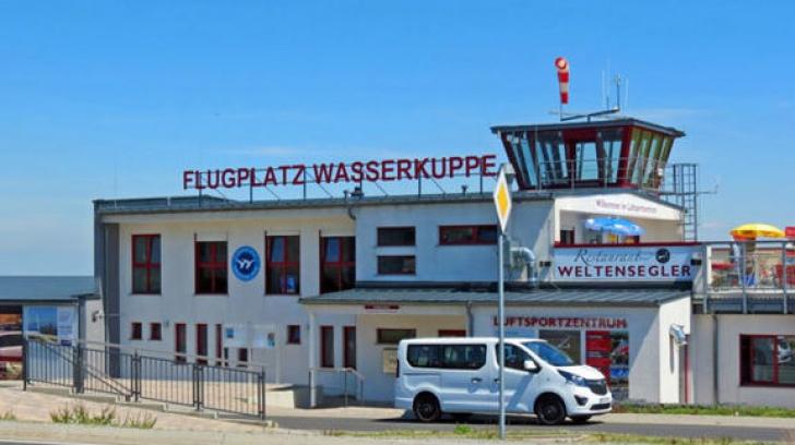 Avion prabuşit în Germania