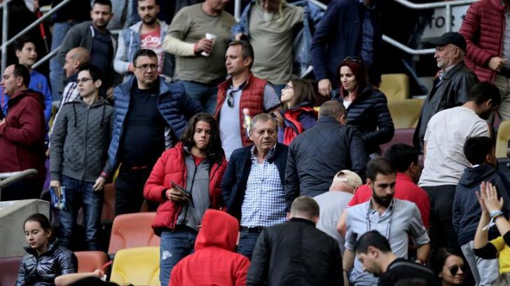 Ultima fotografie cu Ilie Balaci pe stadion! Era supărat pe lumea fotbalului