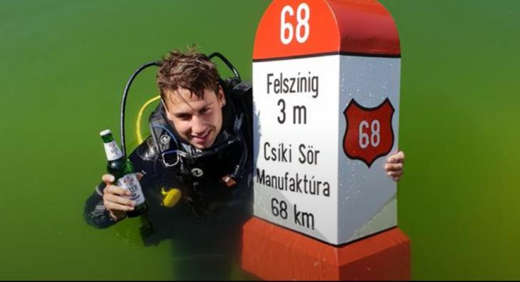 Barul subacvatic din Covasna