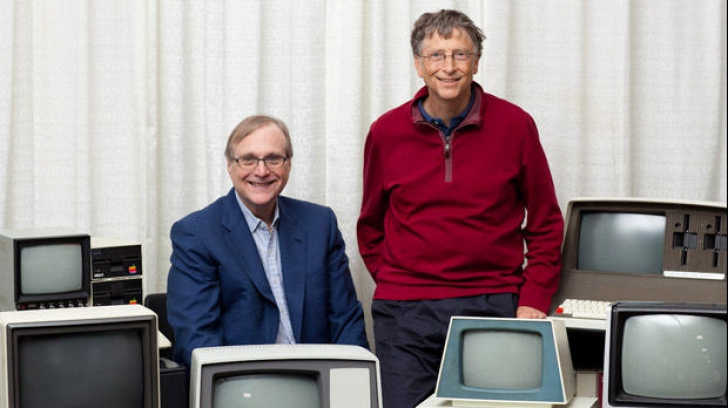 Cei doi fondatori ai Microsoft