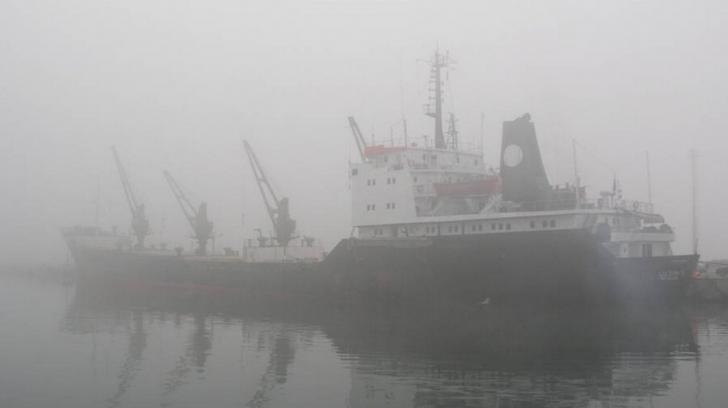 Un fenomen meteo neașteptat a închis porturile din Constanța