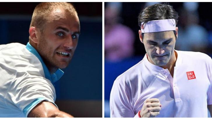Marius Copil a pierdut cu Roger Federer la Basel, 6-7, 4-6, după un meci foarte bun