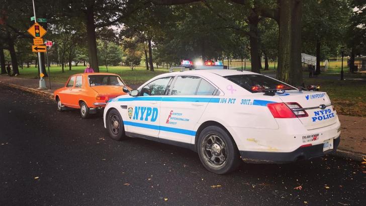 O Dacie 1300, oprită de NYPD. De ce?