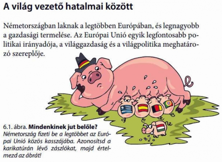 Lecţie de educaţia ideologică în manualele unice din Ungaria